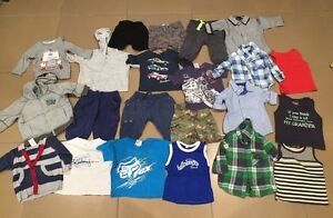 Bulk boys size 0 used clothes some brand name billabong fox cotton on Medowie Port Stephens Area Preview