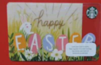 Starbucks 2017 easter giftebay starbucks uk happy easter 2017 gift card no value collectors item negle Gallery