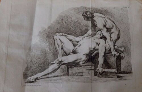 ART PRINT ROMAN BATHS--OLD