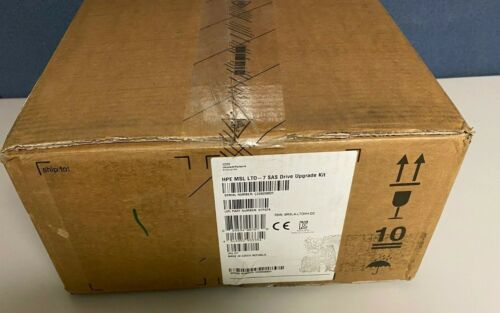 NEW SEALED HP MSL HPE StoreEver LTO-7 SAS Tape Drive Upgrade Kit Library N7P37A