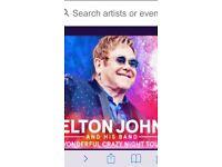 2 X Elton John tickets