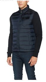 BLACK FRIDAY Tommy Hilfiger Chad Down Vest - Navy - X-Large - (Was £165, Now £110)