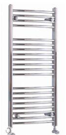 New Chrome Kudox Towel Warmer radiator (H)974MM (W)450MM