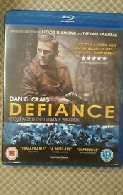 Blu-ray Defiance with Daniel Craig