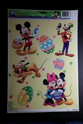 Disney Mickey Maus Ostern Menge 7 Stk. On 1 Bogen LG Urlaub Farbe Aufkleber