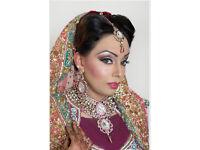 FOZIA AFZAL MUA makeup & mehndi aritist