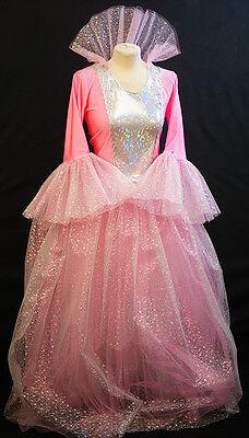 Rosa Fee Patin Cinderella Panto Eisprinzessin Prinzessin Schnee Queen All - Cinderella Fee Kostüm