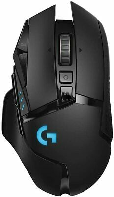 Logitech G502 Lightspeed Gaming Mouse with Hero Sensor & RGB Lighting 910-005565