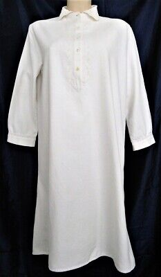 Leinen Nachthemd Leibwäsche Bluse Kleid Mittelalterhemd Reenactment Antik NEU