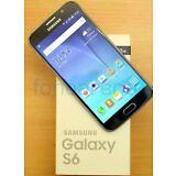 New In Box SAMSUNG Galaxy S6 SM-G920T  32GB  Black Sapphire T-Mobile Smartphone