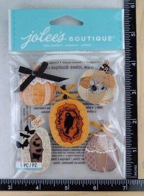 Jolee's HALLOWEEN VINTAGE PUMPKINS Boutique Stickers