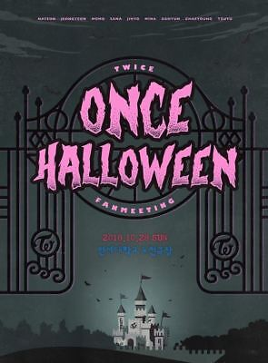 TWICE FANMEETING ONCE HALLOWEEN OFFICIAL GOODS PVC Film C ver. SEALED](Good Halloween Films)