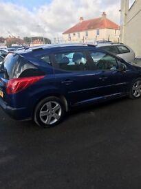 Peugeot 207 Sport SW HDI for sale Kirkcaldy - Full year MOT