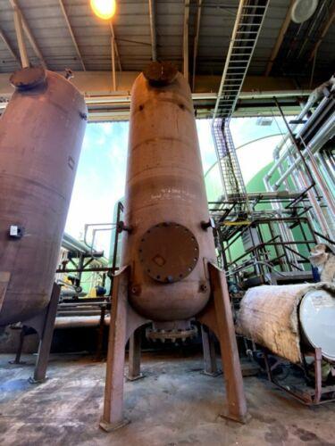 1,800 Gallon Ion Exchange Vessel / Tank, 15 PSIG @ 250°F