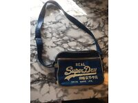 Superdry retro shoulder bag