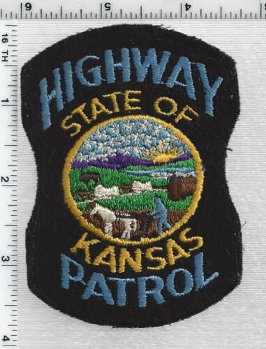 Kansas Highway Patrol - RARE FELT Shoulder Patch