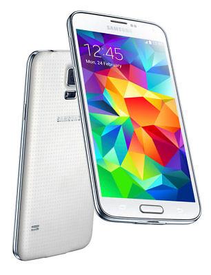 Samsung Galaxy S5 Mini SM-G800F - 16GB - White (Unlocked) (Samsung Galaxy S5 Mini 16 Gb White Unlocked)