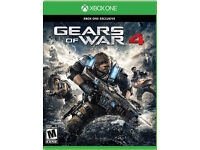 Gears Of War 4 Xbox One New & Sealed