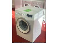 BOSCH Excellent Condition 8kg series 4 washing machine with 1year warranty & delivery