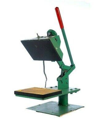 Geo Knight J.c. Nellissen 374d Model Heat Press Transfer Works Great Vinyl Patch