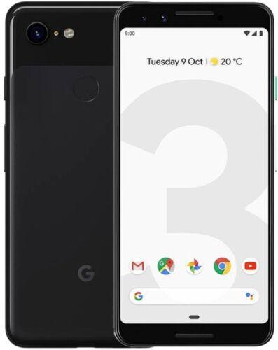 Google Pixel 3 64GB Just Black! For Verizon+GSM Unlocked Carriers! b