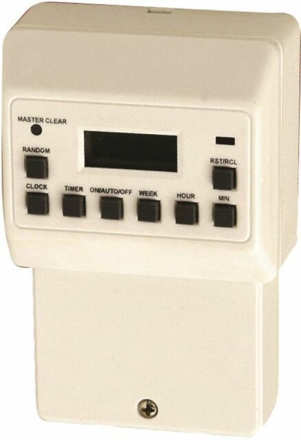Masterplug TEIH7 24 Hour/7 Day Programmable Electronic Timer for Immersions