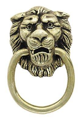 AMEROCK TRADITIONAL CLASSICS ANTIQUE LOOK FINISH LION HEAD PULL A00888