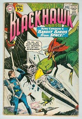 Blackhawk #158 March 1961 VG-