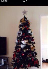 "6ft 6"" Slim Christmas Tree"