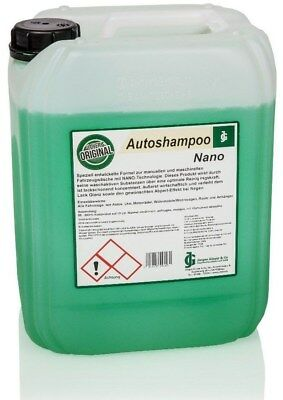 Gloyer´s PROFI Auto-Shampoo NANO - 5 Liter Konzentrat - mit Abperl-Effekt !!!