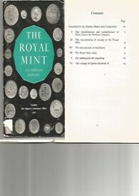 COINS - THE ROYAL MINT - AN OUTLINE HISTORY