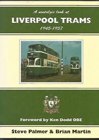 TWO FINE LIVERPOOL BUS AND TRAM BOOKS