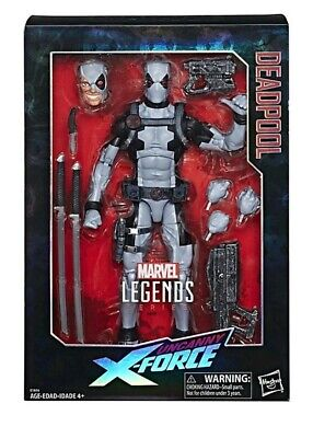Marvel Legends Uncanny X-Force Deadpool 12 Inch Figure New IN HAND Gray Suit