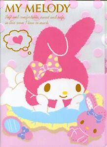 Sanrio-My-Melody-Fuwamelo-A4-Plastic-File-Folder-1