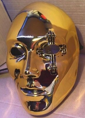 Danny AT mask  (Gold metalized ver.) from Hollywood Undead - Hollywood Undead Mask