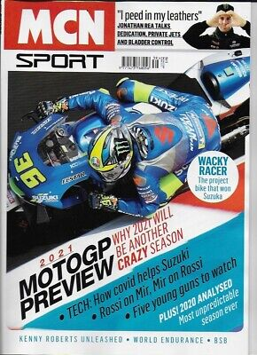 MCN SPORT-The Moto GP Preview 2021 *Post included to UK(Also Ship Worldwide)