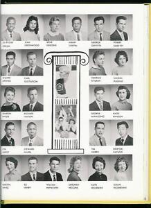 1958 DORSEY High School Yearbook Los Angeles, CA Mike Love in Small Photo
