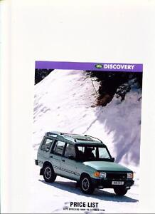 Land rover discovery manuals