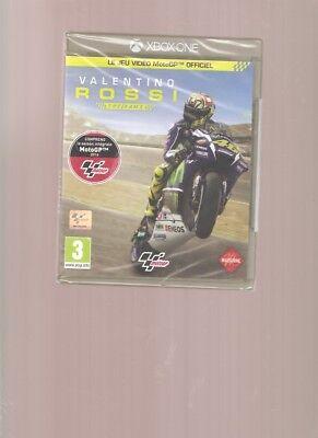 Rare !!! VALENTINO ROSSI Le Jeu Video Moto GP Officiel : X BOX ONE NEUF Blister