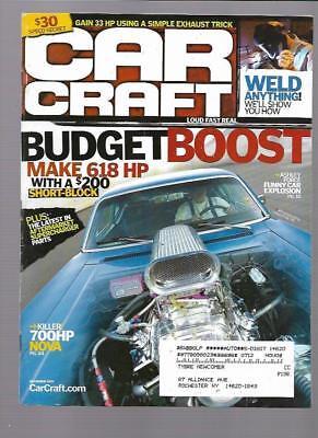 Car Craft Magazine December 2007- '70 Chevy Chevel
