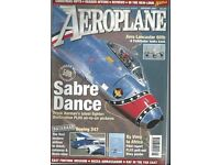Aeroplane Monthly magazine collection