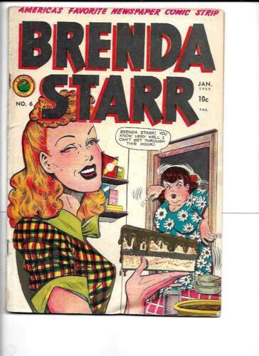 1949 Brenda Starr # 6  Romance Good Girl Art Pinup ! ! !