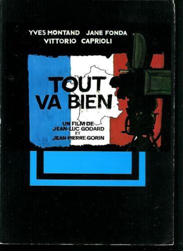 Jean-Luc GODARD Yves MONTAND Jane FONDA French Pressbook TOUT VA BIEN