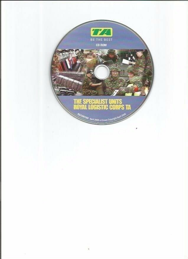ARMY DVD (ROYAL LOGISTIC CORPS - TA)