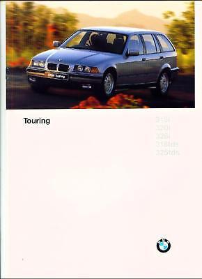 BMW 3 SERIES TOURING ( E36 ). 1996. SALES BROCHURE