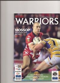 QUANTITY OF PROGRAMMES FROM WIGAN RUGBY LEAGUE TEAM( 50 ) app