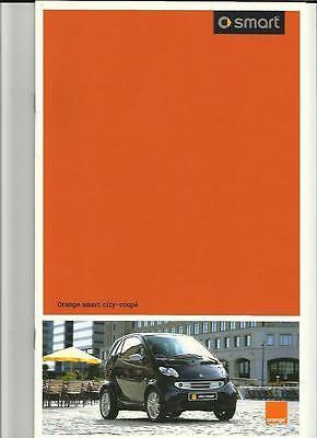 ORANGE SMART CITY-COUPE SALES BROCHURE  2003 2004