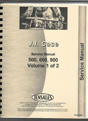 Case 500 600 900 Tractor Service Repair Manual Diesel