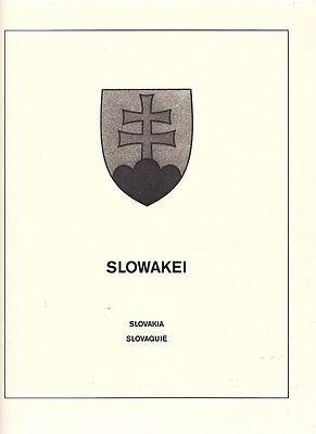 Slowakei komplette postfrische Sammlung