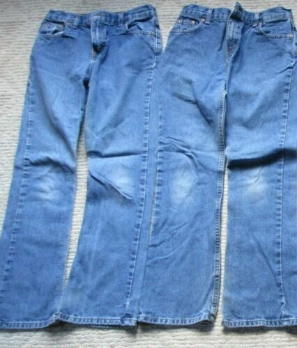 (2) Pair Jeans, Size 12, Faded Glory, Good!